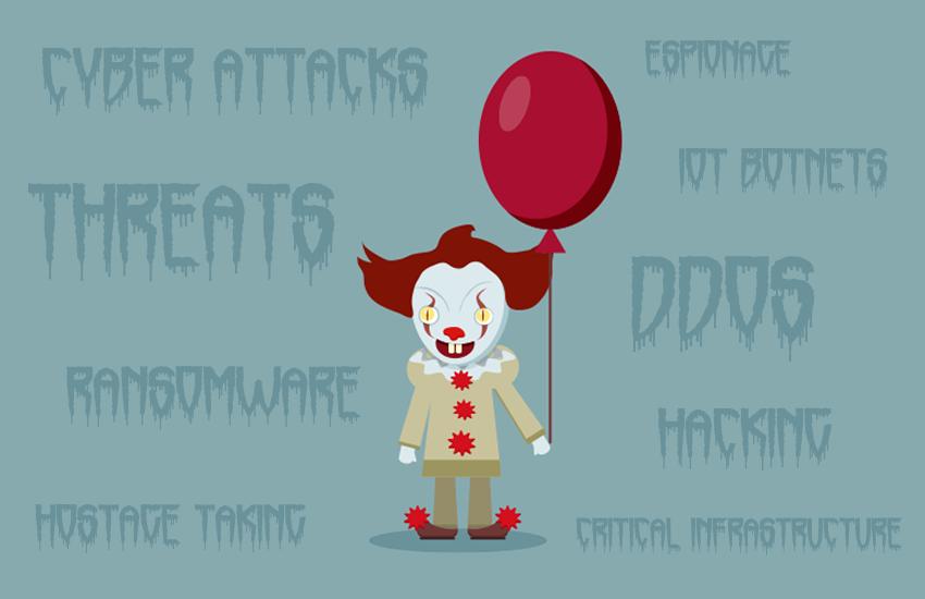 IT Creepy Clown Five Things Keep Me Up At Night