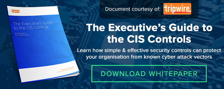 The Executive's Guide to the CIS Controls
